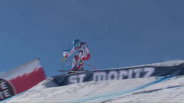 St-Moritz (SUI), Super G dames: Jasmine Flury (SUI) [RTS]