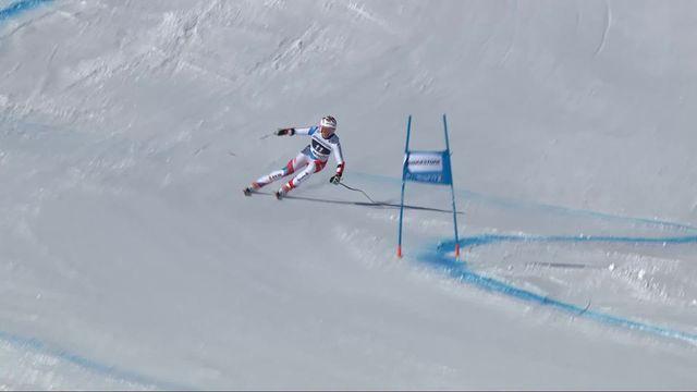 St-Moritz (SUI), Super G dames: Michelle Gisin (SUI) [RTS]