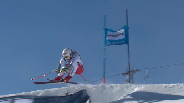 St-Moritz (SUI), Super G dames: Joana Haehlen (SUI) [RTS]