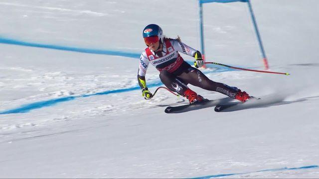 St-Moritz (SUI), Super G dames: Mikaela Shiffrin (USA) [RTS]