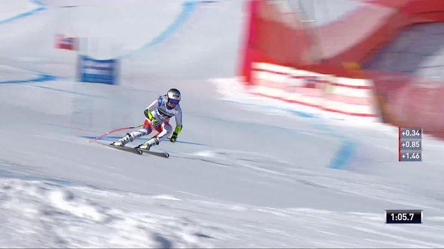 St-Moritz (SUI), Super G dames: Corinne Suter (SUI) [RTS]