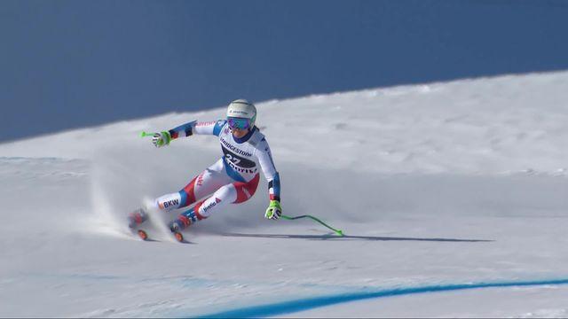 St-Moritz (SUI), Super G dames: Priska Nufer (SUI) [RTS]
