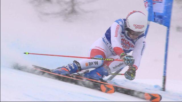 Val d'Isère (FRA), 2e manche géant messieurs: Gino Caviezel (SUI) [RTS]