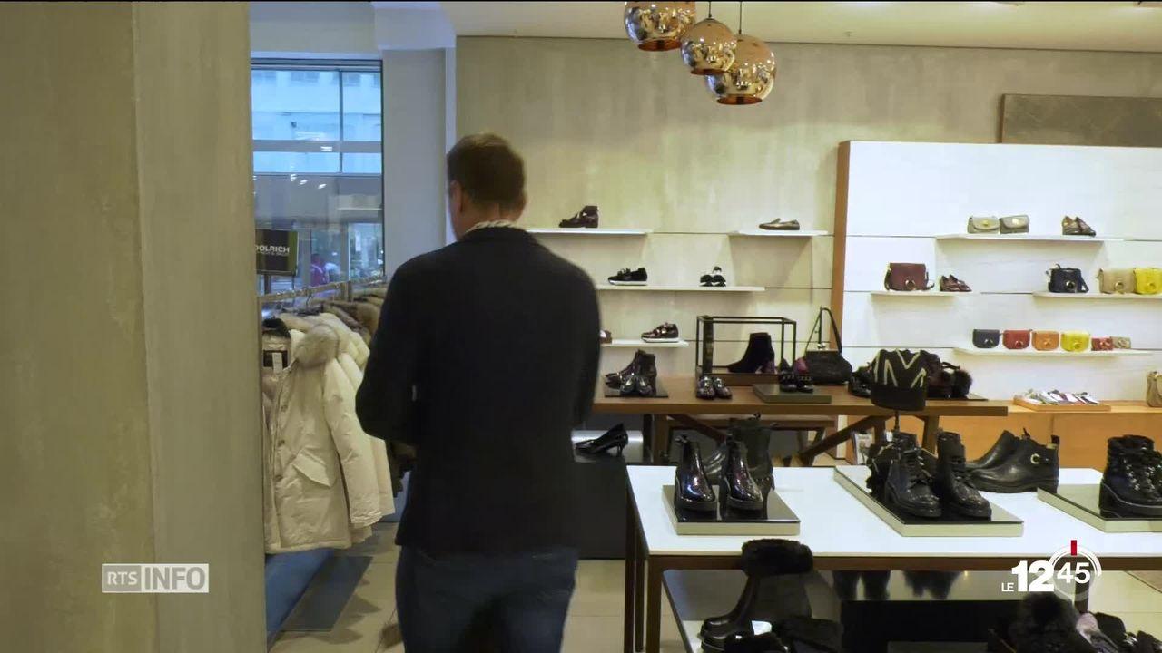 Les magasins de deux rues de Fribourg ouvrent le jour de l'Immaculée Conception [RTS]