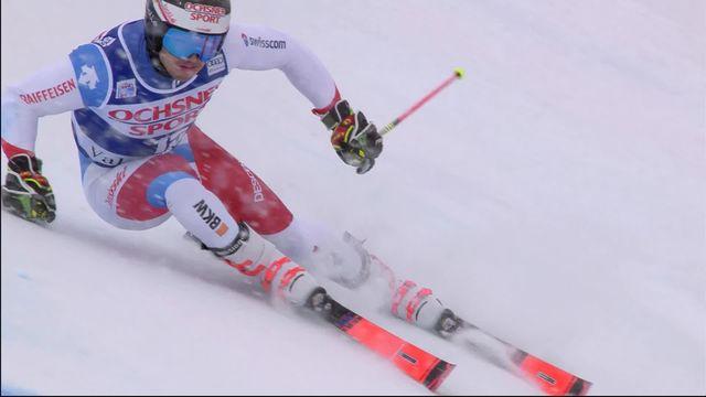 Val d'Isère (FRA), 2e manche géant messieurs: Loic Meillard (SUI) [RTS]