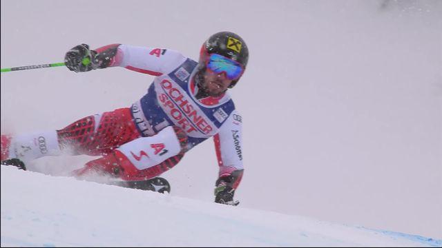 Val d'Isère (FRA), 2e manche géant messieurs: la victoire de Marcel Hirscher (AUT) [RTS]