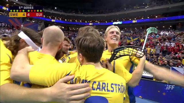 1-2 finale messieurs, Suède - Suisse tb 5-4: victoire des Suèdois après les tirs au but [RTS]