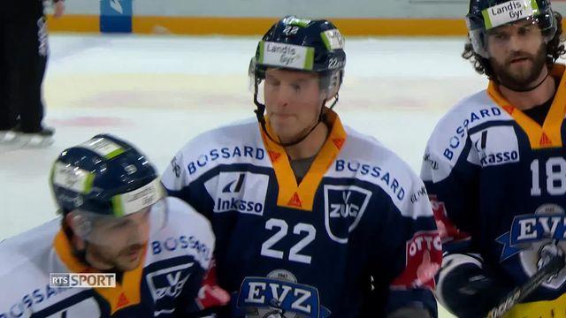 National League, 26e journée: Zoug - Davos (2-0) [RTS]