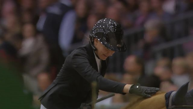 CSI de Genève, Grand Prix Rolex: Nadja Peter Steiner (SUI) [RTS]