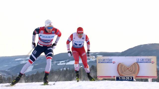 Bietoslolen (NOR), relais messieurs: victoire des Norvégiens, les Suisses 4e [RTS]