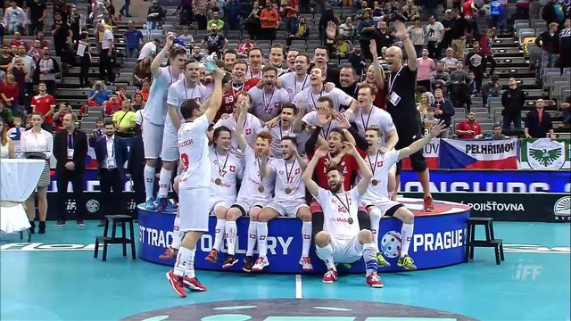 Petite finale messieurs, République Tchèque - Suisse 2-4: les Suisses remportent la médaille de bronze [RTS]