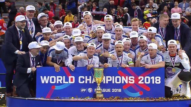 Finale, Finlande - Suède 6-3: les Finlandais remportent le titre mondial [RTS]