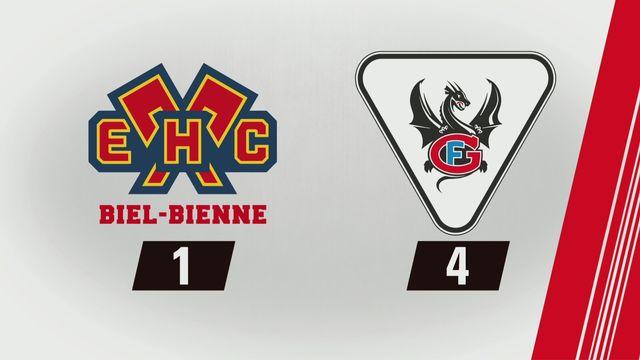 National League, 26e journée: Bienne - Fribourg (1-4) [RTS]