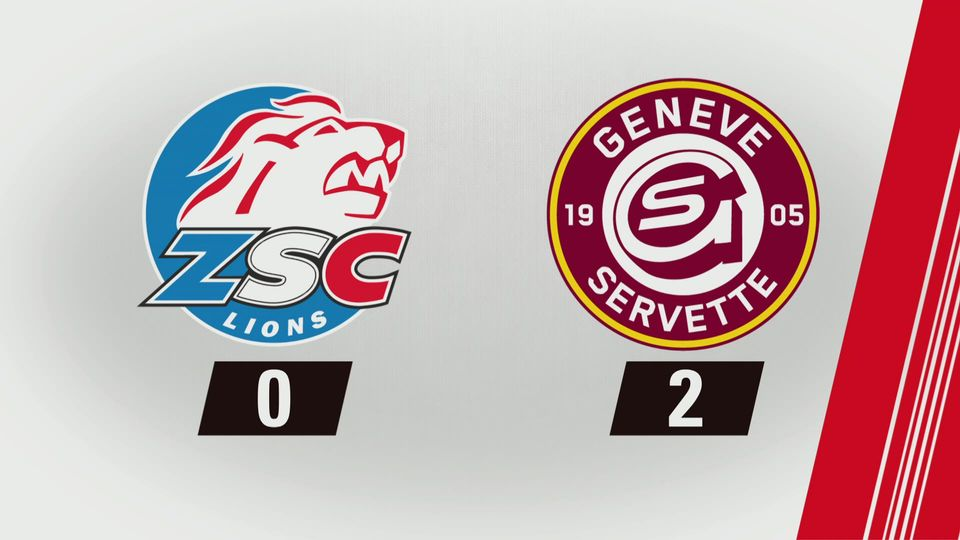National League, 26e journée: Genève - Lausanne (2-1) [RTS]