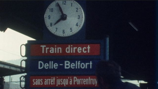 Delle Belfort: l'inauguration [RTS]