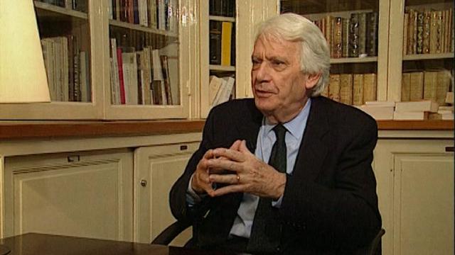 L'écrivain espagnol Jorge Semprun en 1998. [RTS]