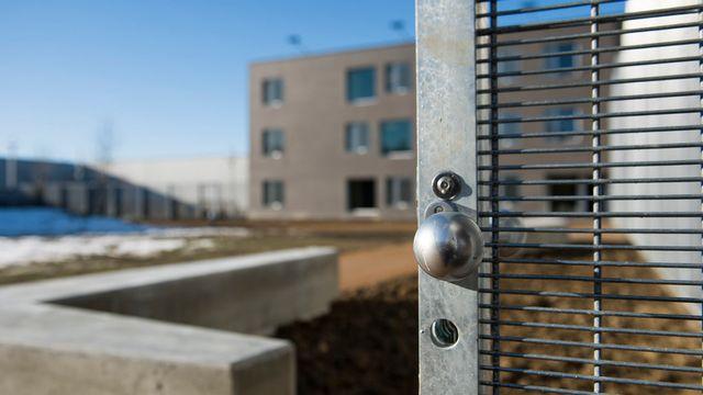 La prison pour mineurs de Palézieux (VD). [Jean-Christophe Bott - Keystone]