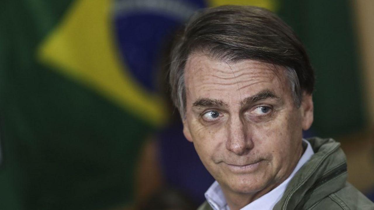 Le président Jair Bolsonaro va retirer le Brésil du Pacte mondial sur les migrations de l'ONU. [Ricardo Moraes - AFP]