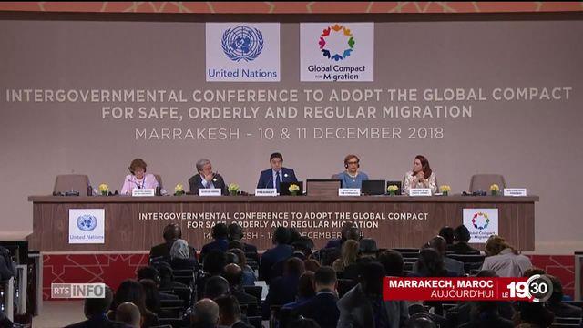 Pacte de la migration: les vrais questions [RTS]