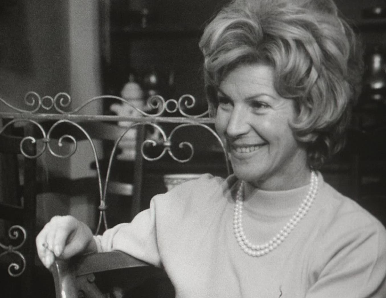 Irène Vidy, comédienne suisse
