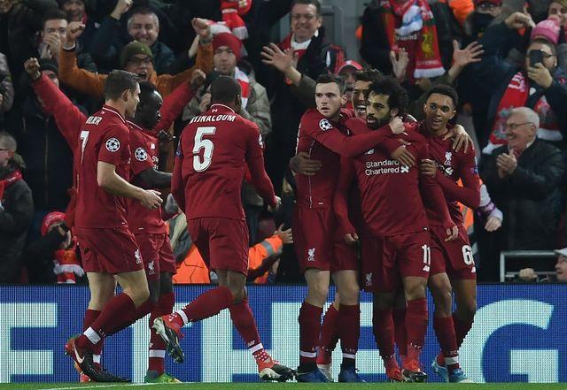 Le but de Mohamed Salah a envoyé les Reds en 8es de finale. [Paul Ellis - AFP]