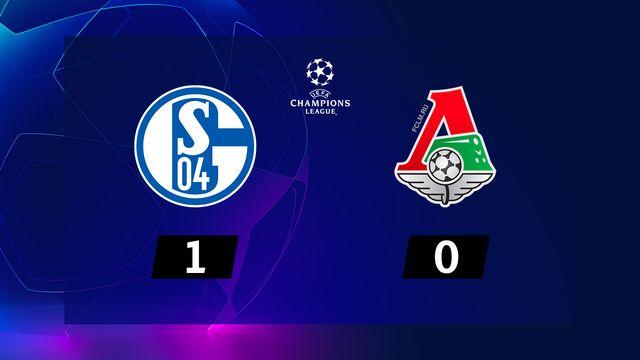 6e journée, Schalke 04 - Lok.Moscou (1-0): le résumé de la rencontre