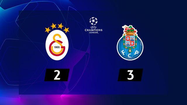 6e journée, Galatasaray - Porto (2-3): le résumé de la rencontre