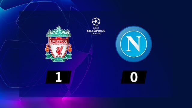 6e journée, Liverpool - Naples (1-0): le résumé de la rencontre