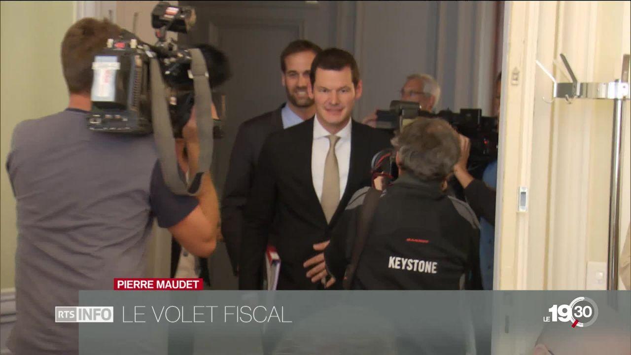 Pierre Maudet. Enquête sur le volet fiscal. [RTS]