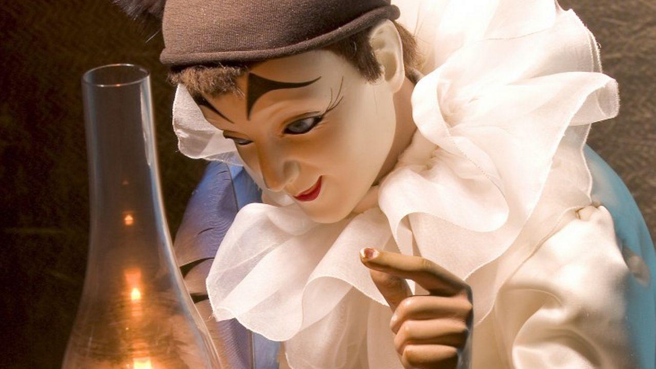 Pierrot exposé au Musée Centre international de la mécanique d'art à Sainte-Croix. [Schaffner & Conzelmann - Musée CIMA]