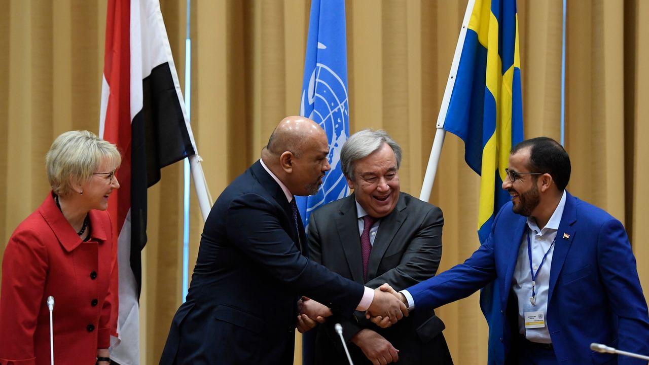Les discussions sur le Yémen se sont achevés jeudi en Suède. [Pontus Lundahl - EPA/Keystone]