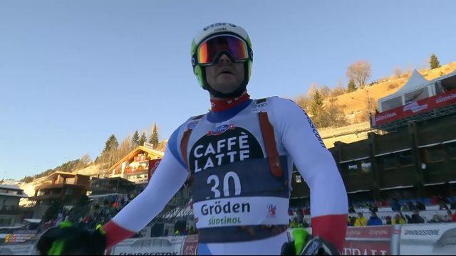 Val Gardena (ITA), Super-G messieurs: Thomas Tumler (SUI) [RTS]
