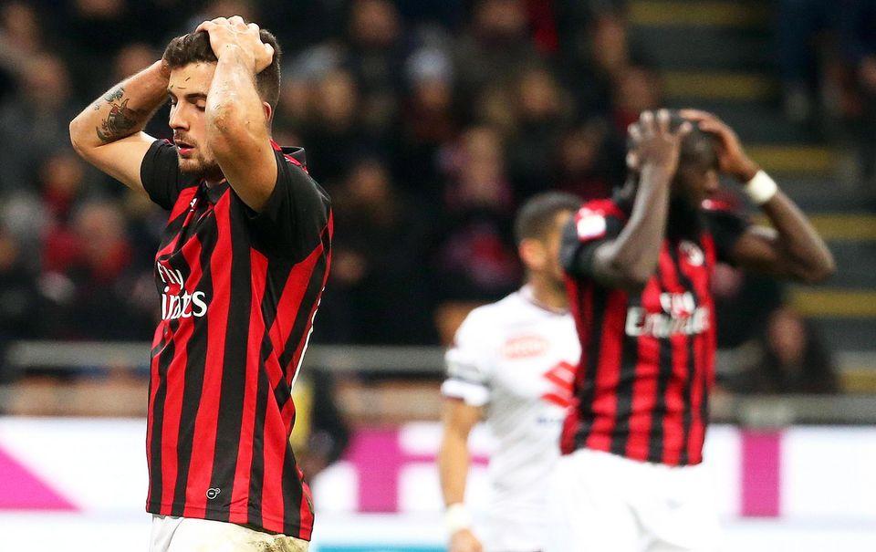 Le Milan AC doit remettre de l'ordre dans ses finances. [Mateo Bazzi - Keystone]