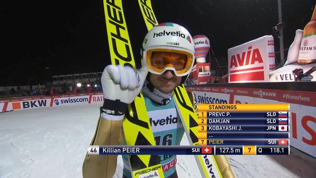 Engelberg, qualifs Grand Tremplin (HS140): Kilian Peier [RTS]