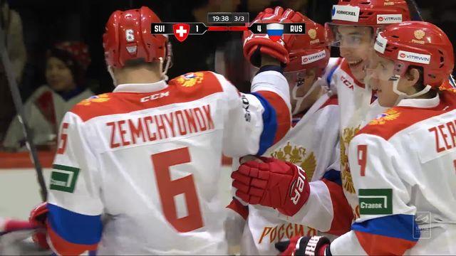 Swiss Ice Hockey Challenge, Suisse - Russie (1-5): tous les buts de la rencontre [RTS]