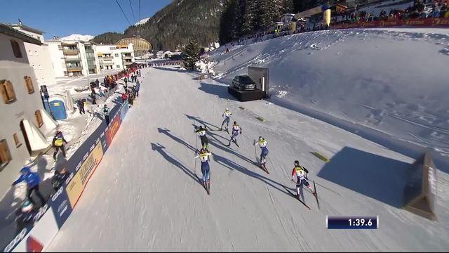 Davos (SUI), 1-2 du sprint dames: Nadine Faehndrich (SUI) termine 4e et ne se qualifie pas pour la finale [RTS]
