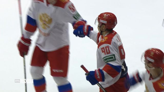 Hockey, Lucerne Cup: Suisse - Russie (1-5) [RTS]