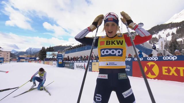 Davos (SUI), 10 km dames: victoire de Johaug (NOR), Von Siebenthal (SUI) finit 14e [RTS]