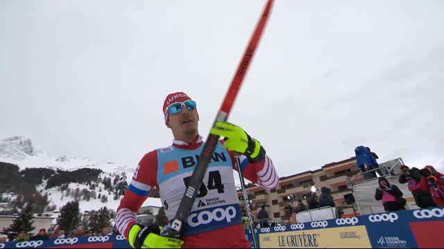 Davos (SUI), 15 km messieurs: victoire de Belov Evgeniy (RUS) [RTS]