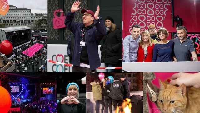 Coeur à Coeur 2018, à suivre sur les réseaux sociaux de la RTS. [Anne Bichsel / Jérôme Genet - RTS]