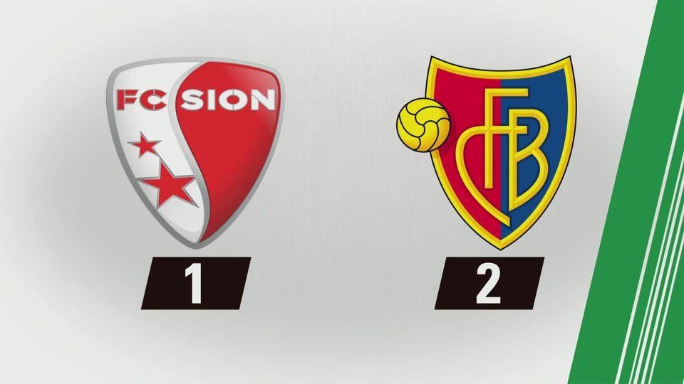 Tous les buts: Sion - Bâle [RTS]