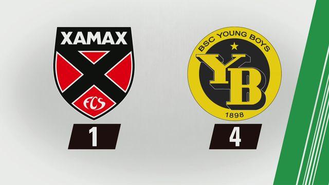 Tous les buts: Xamax - YB [RTS]