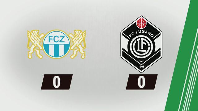 Tous les buts: Zurich - Lugano [RTS]