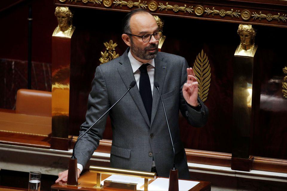 Le Premier ministre français Edouard Philippe photographié lors d'un débat à l'Assemblée nationale, le 13 décembre 2018. [Philippe Wojazer - Reuters]