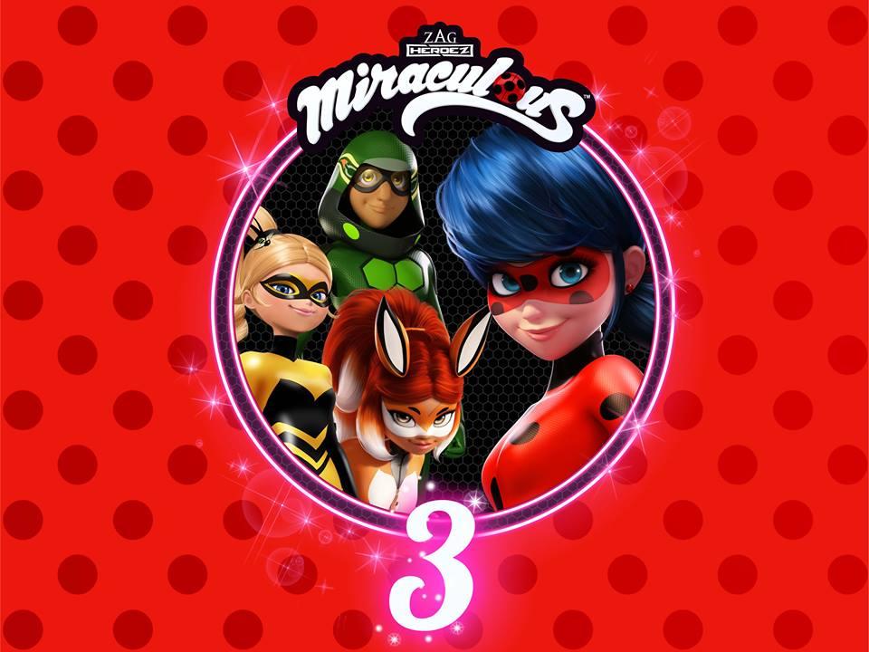 MIRACULOUS : Les aventures de Ladybug et Chat Noir saison 3
