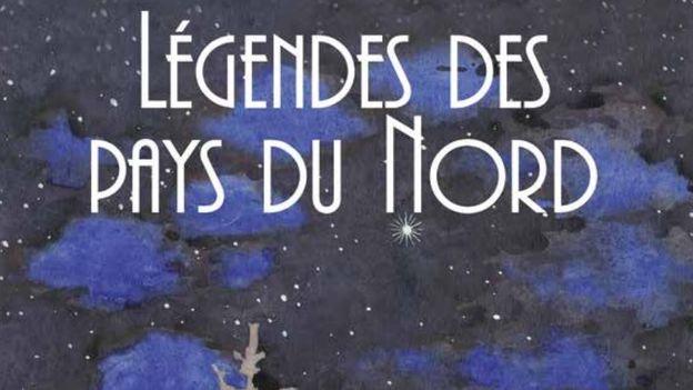 """Flyer de l'exposition """"Légendes des pays du Nord"""" du 24 novembre au 17 février à Evian. [ville-evian.fr]"""