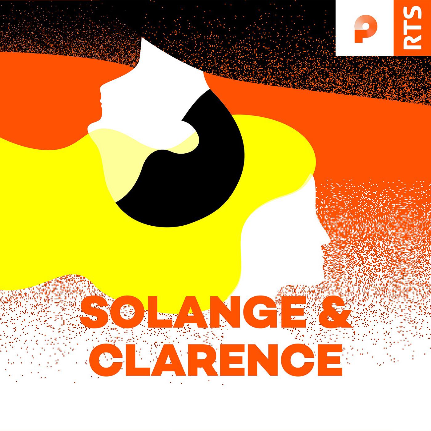 Logo podcast Solange et Clarence. [RTS]