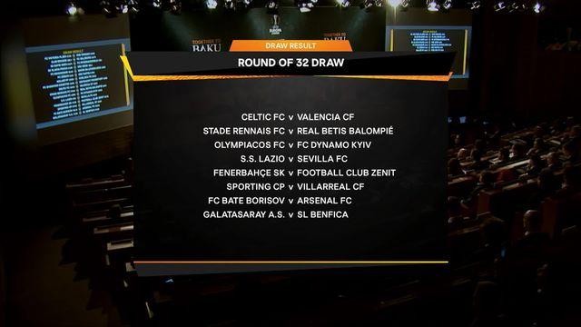 Tirage au sort: Zurich affrontera Naples en 1-16e de finale! [RTS]