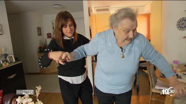 Le canton de vaud présente ses solutions pour loger les seniors à l'horizon 2040. [RTS]