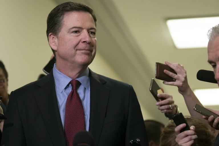 James Comey, ex-chef du FBI, s#039;en prend au président Donald Trump